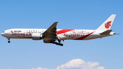 A picture of B2035 - Boeing 77739L(ER) - Air China - © AGUIJUN-Lei