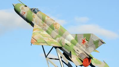 17 - Mikoyan-Gurevich MiG-21SMT Fishbed K - Soviet Union - Air Force