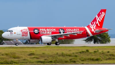 A picture of 9MAHY - Airbus A320214 - AirAsia - © JC28