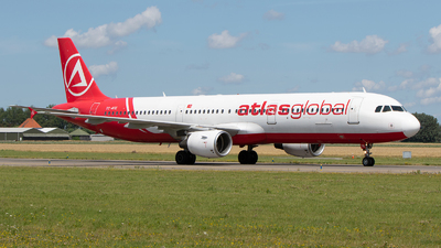 A picture of TCATE - Airbus A321211 - AtlasGlobal - © Freek Blokzijl