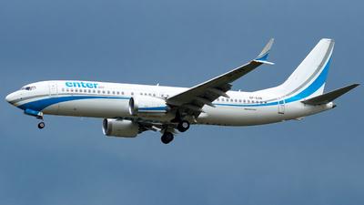 SP-EXB - Boeing 737-8 MAX - Enter Air