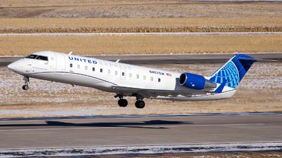 A picture of N457SW - Mitsubishi CRJ200LR - United Airlines - © HA-KLS