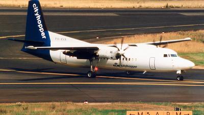 PH-KVA - Fokker 50 - KLM Cityhopper