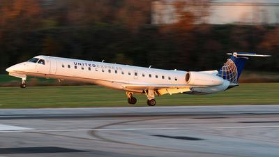 N855HK - Embraer ERJ-145LR - United Express (Trans States Airlines)