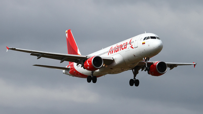 N538AV - Airbus A320-214 - Avianca