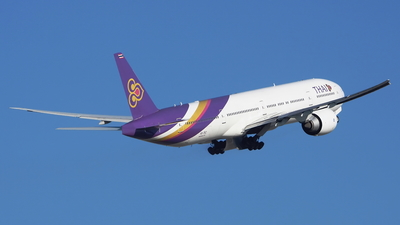 HS-TKZ - Boeing 777-3D7ER - Thai Airways International