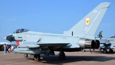 ZK329 - Eurofighter Typhoon FGR.4 - United Kingdom - Royal Air Force (RAF)