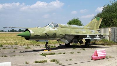 24-29 - Mikoyan-Gurevich MiG-21bis Fishbed L - German Democratic Republic - Air Force