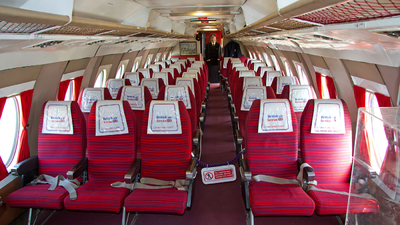 G-APIM - Vickers Viscount 806 - British Air Ferries (BAF)