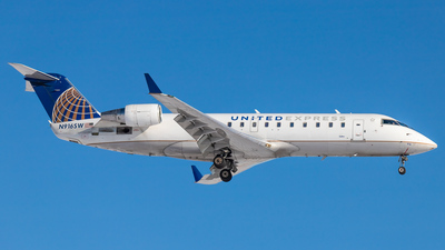 A picture of N916SW - Mitsubishi CRJ200LR - United Airlines - © CYYCspotter