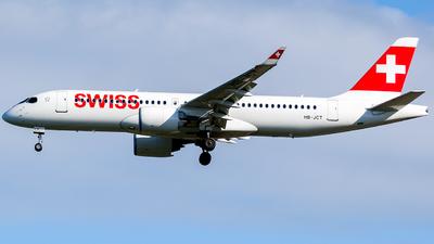 HB-JCT - Airbus A220-371 - Swiss