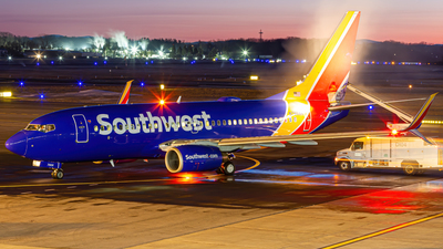 A picture of N7868K - Boeing 73779P - Southwest Airlines - © Elliott F Martin