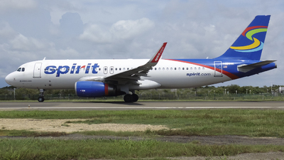N629NK - Airbus A320-232 - Spirit Airlines