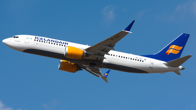 TF-ICY - Boeing 737-8 MAX - Icelandair