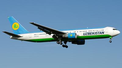 A picture of UK67003 - Boeing 76733P(ER) - Uzbekistan Airways - © OSDU