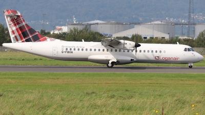 A picture of GFBXA - ATR 72600 - Loganair - © Ethan Allen