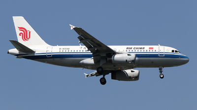 A picture of B6032 - Airbus A319131 - Air China - © ceci wong