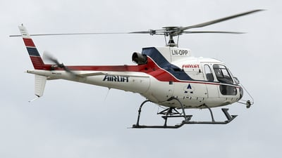 LN-OPP - Eurocopter AS 350B2 Ecureuil - Airlift