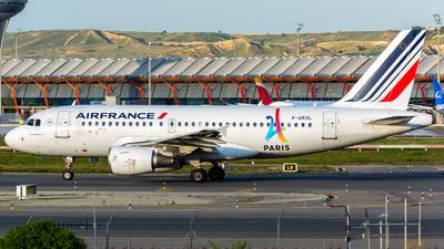 F-GRXL - Airbus A319-111 - Air France