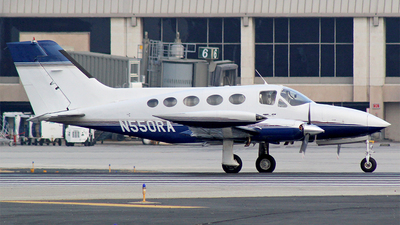 N550RA - Cessna 414 - Private
