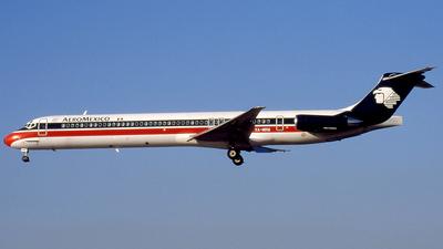XA-MRM - McDonnell Douglas MD-82 - Aeroméxico