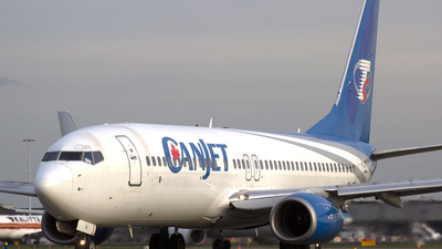 OK-TSJ - Boeing 737-8AS - CanJet Airlines
