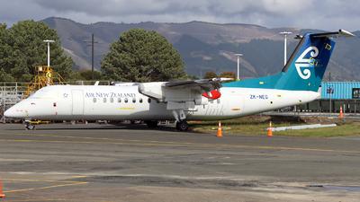 A picture of ZKNEG - De Havilland Canada Dash 8300 - Air New Zealand - © TNH_Aviation