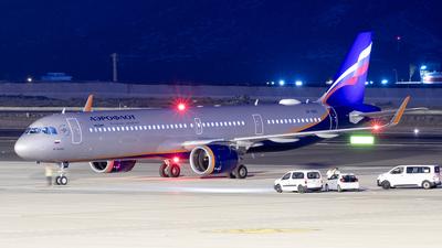 VP-BRC - Airbus A321-251NX - Aeroflot