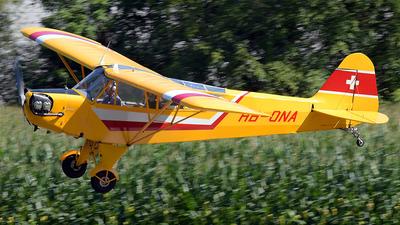 HB-ONA - Piper J-3C-90 Cub - Motorfluggruppe Pilatus