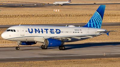 N880UA - Airbus A319-132 - United Airlines