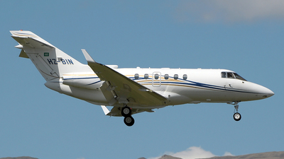 HZ-BIN - Raytheon Hawker 900XP - Private