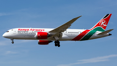 5Y-KZJ - Boeing 787-8 Dreamliner - Kenya Airways