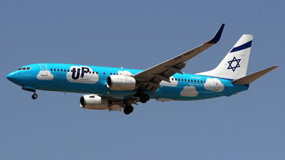 4X-EKT - Boeing 737-8BK - Up