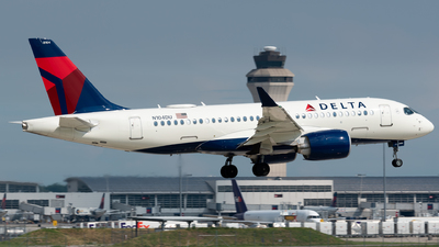 N104DU - Airbus A220-100 - Delta Air Lines