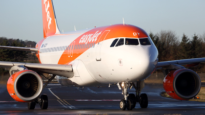 G-EZDY - Airbus A319-111 - easyJet