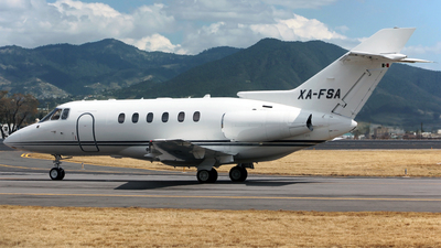 XA-FSA - Hawker Beechcraft 800XP - Private