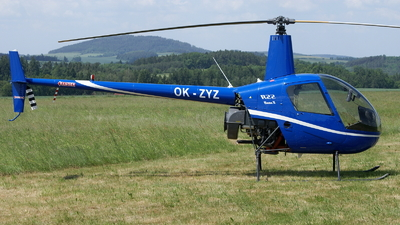 OK-ZYZ - Robinson R22 Beta II - Private