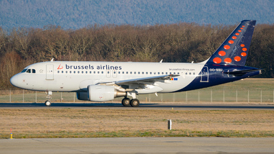 A picture of OOSSU - Airbus A319111 - Brussels Airlines - © Stefan Gschwind