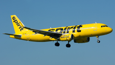 N647NK - Airbus A320-232 - Spirit Airlines