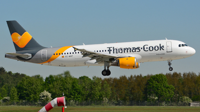 EC-MVF - Airbus A320-214 - Thomas Cook Airlines Balearics