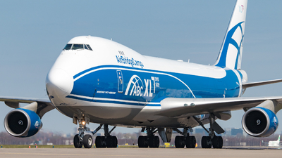 A picture of VPBIK - Boeing 74746NF(ER) - AirBridgeCargo Airlines - © Justin Peeters