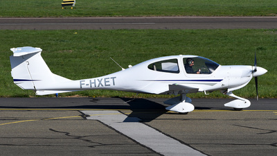 F-HXET - Diamond DA-40 Diamond Star XLS - European Aero Training Institute Strasbourg (E.A.T.I.S)