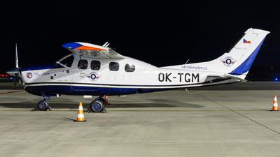 A picture of OKTGM - Cessna P210N Pressurized Centurion - [P21000328] - © Milan Cibulka
