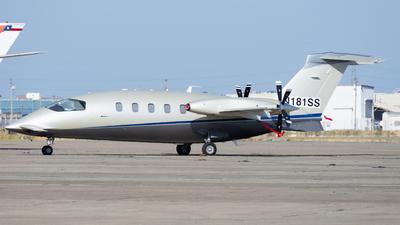 N181SS - Piaggio P-180 Avanti - Private