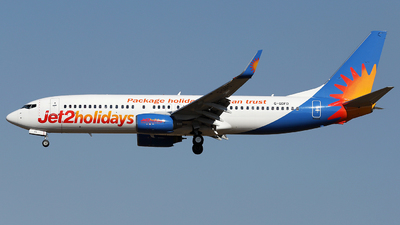 A picture of GGDFD - Boeing 7378K5 - Jet2 - © Firat Cimenli