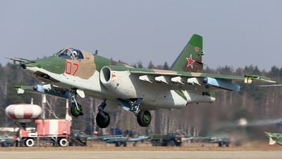 RF-93021 - Sukhoi Su-25SM Frogfoot - Russia - Air Force