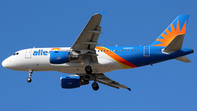 A picture of N321NV - Airbus A319111 - Allegiant Air - © Chrisjake