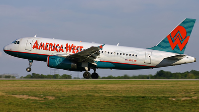 N815AW - Airbus A319-132 - America West Airlines