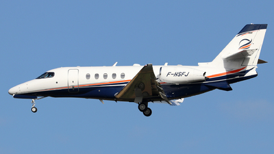 F-HSFJ - Cessna Citation Latitude - Private