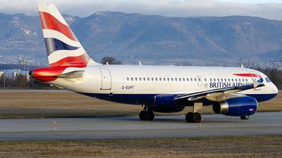G-EUPT - Airbus A319-131 - British Airways